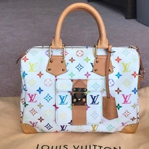 💯Authentic Louis Vuitton Multicolor Speedy 30